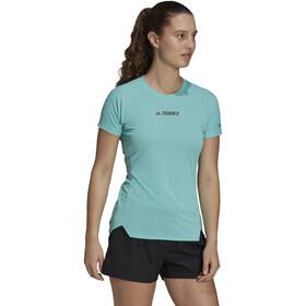 adidas TERREX Parley Agravic TR Allaround T-Shirt Women, turquoise